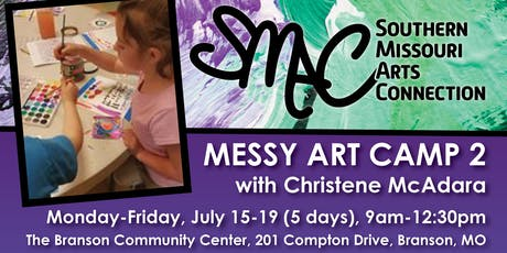 Messy Art Camp 2 tickets