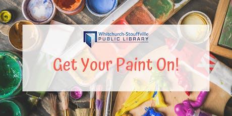 Get Your Paint On! (ages 7+) tickets