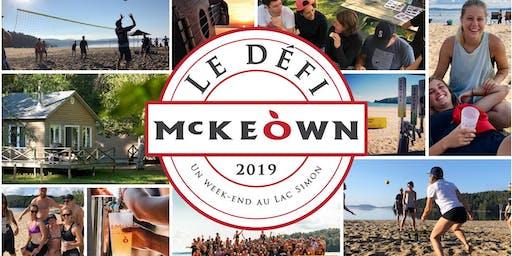LE DÉFI MCKEÒWN - 2019
