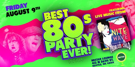 The Best 80s Party Ever! (So Far)  tickets