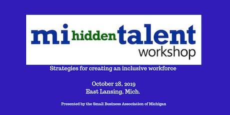 2019 MI Hidden Talent Workshop tickets