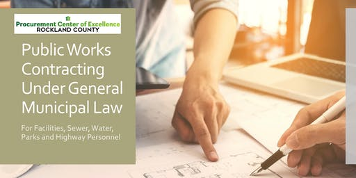 Public Works Contracting Under General Municipal Law