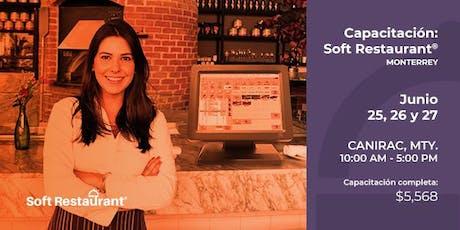 Monterrey: Capacitación módulos Soft Restaurant® boletos