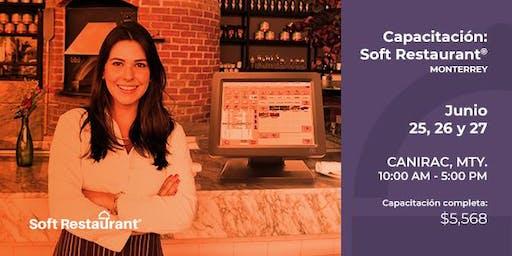 Monterrey: Capacitación módulos Soft Restaurant®