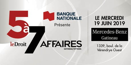 5 à 7 magazine LD AFFAIRES - Édition JUIN tickets