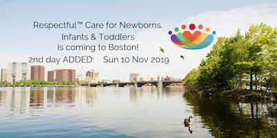 Respectful™ Care: Boston 11/10/2019 SUN