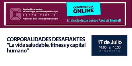 """Dra. Flavia Costa - Corporalidades desafiantes """"La vida saludable, fitness y capital humano"""" entradas"""