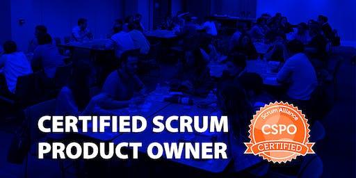 Certified Scrum Product Owner - CSPO + Gestión Ágil de Productos + MVP + Métricas (Madrid, 5 y 6 de agosto)