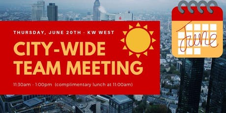 JUNE City-Wide Team Meeting tickets