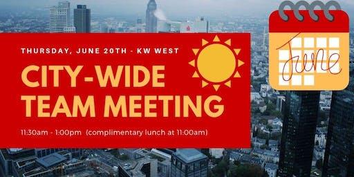 JUNE City-Wide Team Meeting