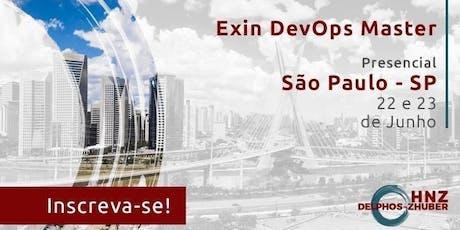 DevOps Master São Paulo Presencial Junho 2019 ingressos