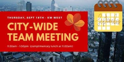 SEPT City-Wide Team Meeting