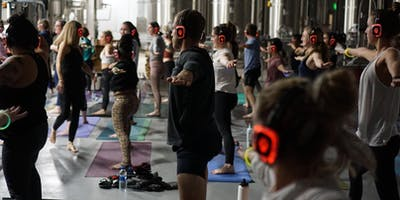 Silent Disco Yoga with CorePower Yoga!
