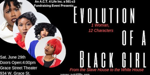 Evolution of a Black Girl: From the Slave House to the White House Show