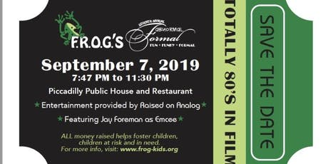 "Families Reaching Out Group  (FROG) AbNormal Formal ""Totally 80's in Film"" tickets"