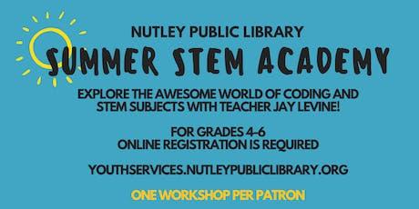 Summer STEM Academy: STEM Engineering (8/1 at 10:00 AM) tickets