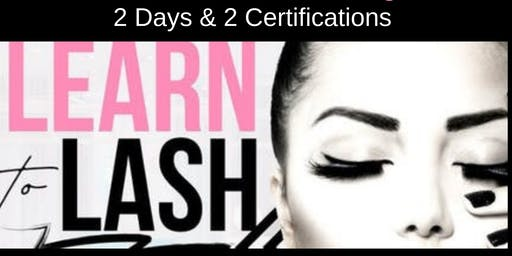 JULY 21-22 TWO-DAY CLASSIC & VOLUME LASH EXTENSION CERTIFICATION TRAINING