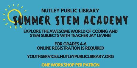 Summer STEM Academy: STEM Engineering (8/2 at 10:00 AM) tickets
