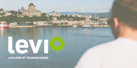 Saguenay - Venez vivre l'expérience Levio avec nous tickets