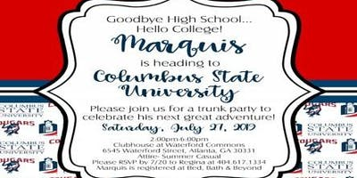 Marquis' CSU Trunk/Pool Party