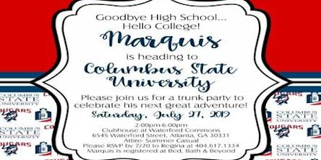 Marquis' CSU Trunk/Pool Party tickets