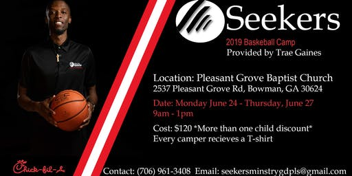 Seekers Ministries Basketball Camp