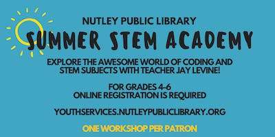 Summer STEM Academy: Computer Science STEM Games (8/9 at 10:00 AM)