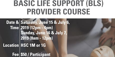 BLS Provider Course  July 6-7, 2019 tickets