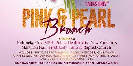 Ladies Only Pink & Pearl Brunch tickets