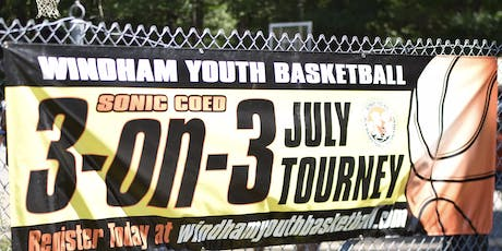 7th Annual Sonic Coed 3-on-3 Basketball Tournament Sunday July 28 tickets