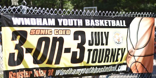 7th Annual Sonic Coed 3-on-3 Basketball Tournament Sunday July 28