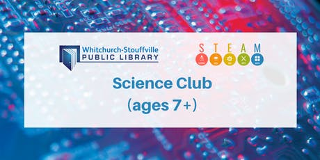 Science Club (ages 7+) tickets