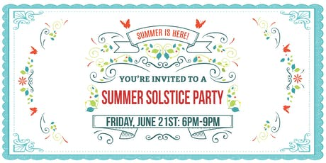 Mosaic Summer Solstice Party tickets