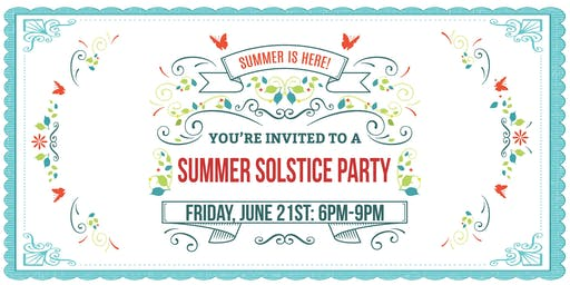 Mosaic Summer Solstice Party