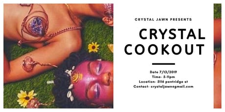 Crystal Cookout tickets