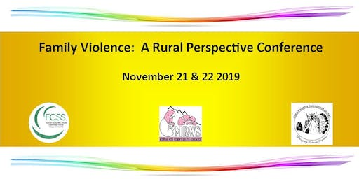Family Violence:  A Rural Perspective Conference