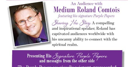 Signs of Spirit An Audience with Roland Comtois tickets