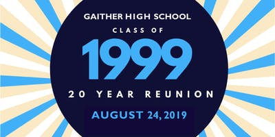 Gaither High School 20th Reunion - Class of 1999