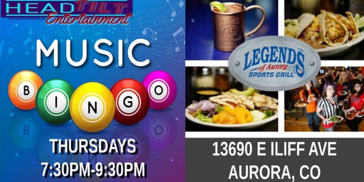 Music Bingo at Legends of Aurora Sports Grill - Aurora, CO