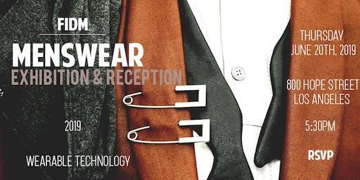 FIDM - MENSWEAR 2019 EXHIBITION featuring WEARABLE TECHNOLOGY