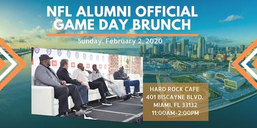 NFL Alumni Official Super Bowl Game Day Brunch Presented by JBL 2020