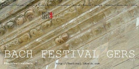 4ème BACH FESTIVAL GERS - Bach pour violoncelle seul - Violoncelliste Anna BRIKCIUSOVÁ billets