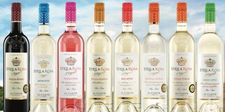 Stella Rosa (Semi-Sweet/Semi-Sparkling) Wine Tasting tickets