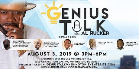 Genius Talk with Al Rucker -Washington Dc tickets