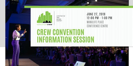 CREW Convention Information Session tickets