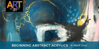 WED - Abstract Acrylic Painting with instructor Ann Golumbuk