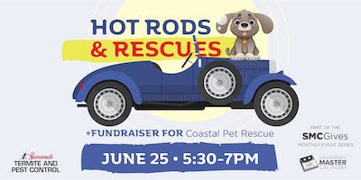Hot Rods & Rescues: A Networking Social and Fundraiser for Coastal Pet Rescue