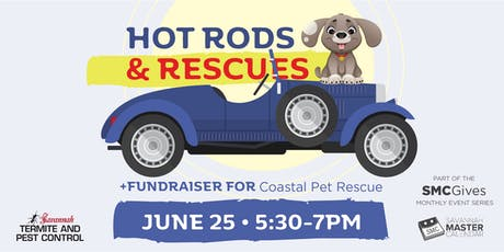 Hot Rods & Rescues: A Networking Social and Fundraiser for Coastal Pet Rescue tickets