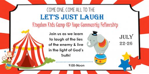 LET'S JUST LAUGH - Kingdom Kids Camp