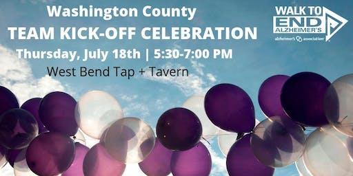 Kick-Off Celebration - Washington County Walk to End Alzheimer's